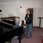 Music Rehearsal - Clarence & Michelle